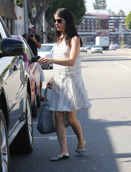 More Pics of Selma Blair Ballet Flats (1 of 36) - Selma Blair Lookbook - StyleBistro