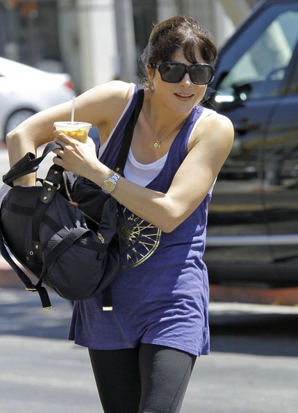 More Pics of Selma Blair Tank Top (1 of 14) - Selma Blair Lookbook - StyleBistro