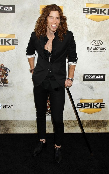 Shaun White Medium Curls