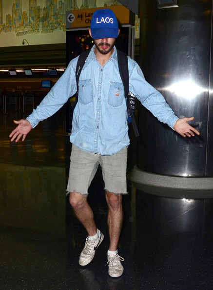 More Pics of Shia LaBeouf Denim Shirt (1 of 6) - Denim Shirt Lookbook - StyleBistro