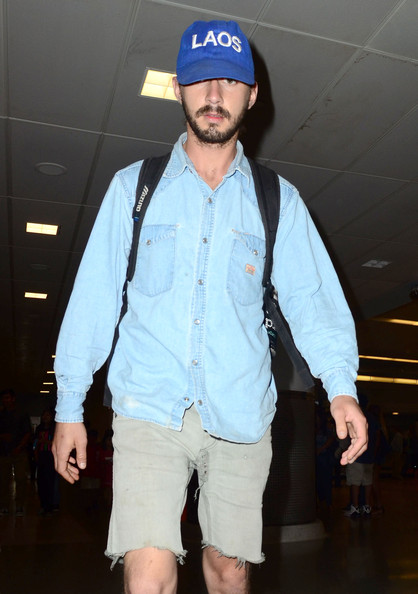 Shia LaBeouf Denim Shirt