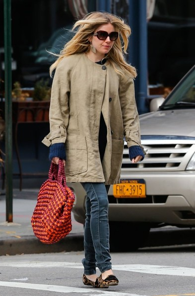More Pics of Sienna Miller Trenchcoat (1 of 8) - Trenchcoat Lookbook - StyleBistro