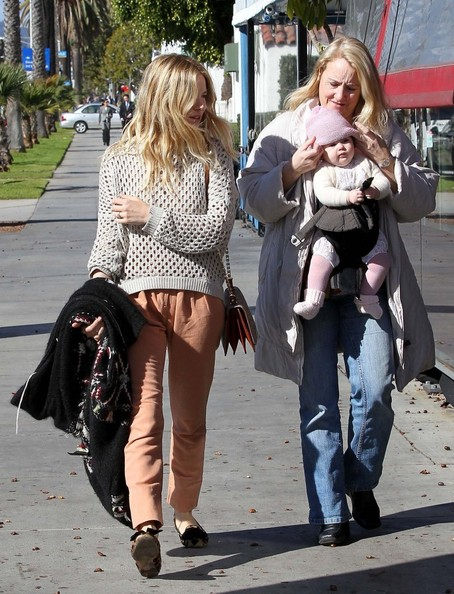Quality Mother Daughter Time For Sienna Miller And Adorable Daughter Marlowe