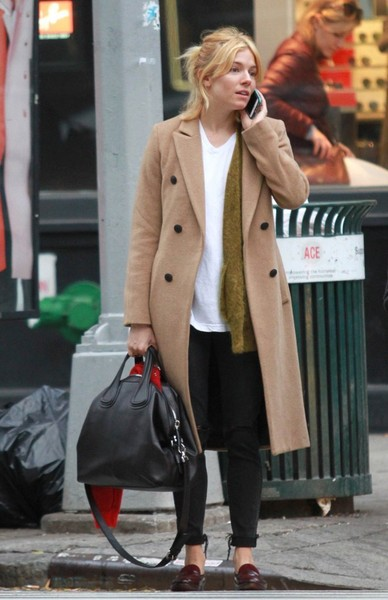 Sienna Miller Leather Tote