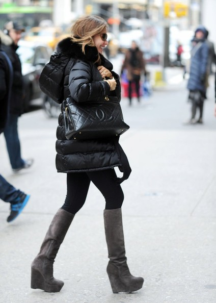 More Pics of Sofia Vergara Down Jacket (1 of 9) - Down Jacket Lookbook - StyleBistro