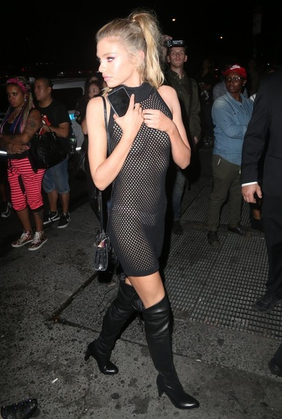 Stella Maxwell Sheer Dress