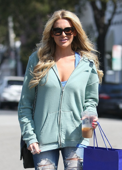 Stephanie Pratt Square Sunglasses