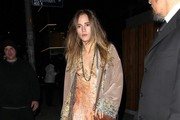 Suki Waterhouse Leather Shoulder Bag