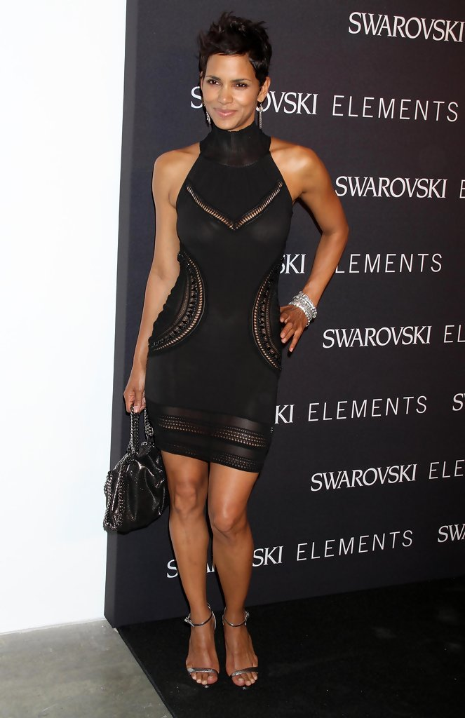 Celebrities at the Swarovski Elements 22 Ways To Say Black event at Philips de Pury in New York City, NY.