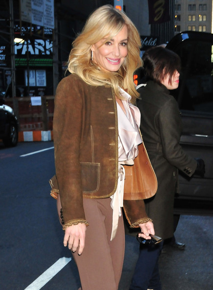 Taylor Armstrong Suede Jacket