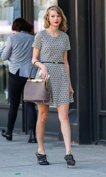 Taylor Swift Cutout Boots