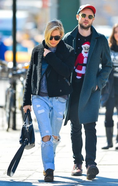 Sienna Miller & Tom Sturridge Spotted Out In New York