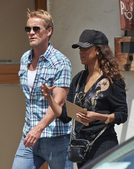 Tyra Banks & New Boyfriend Out In Venice