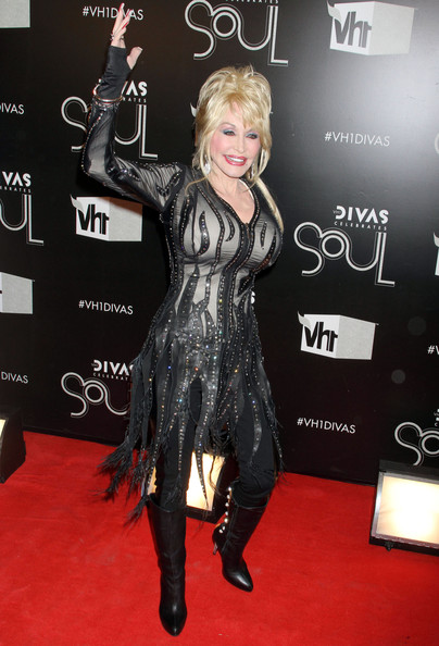 More Pics Of Dolly Parton Leather Dress 7 9 Lookbook Stylebistro