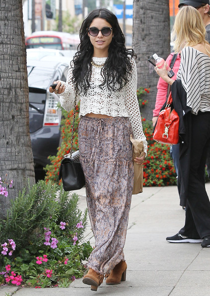 Vanessa Hudgens Long Skirt