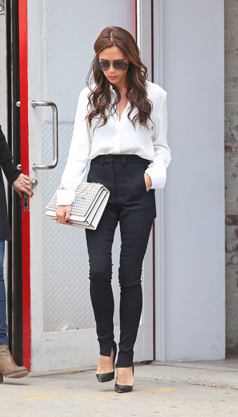 She Makes High-Waist Trousers Sexy