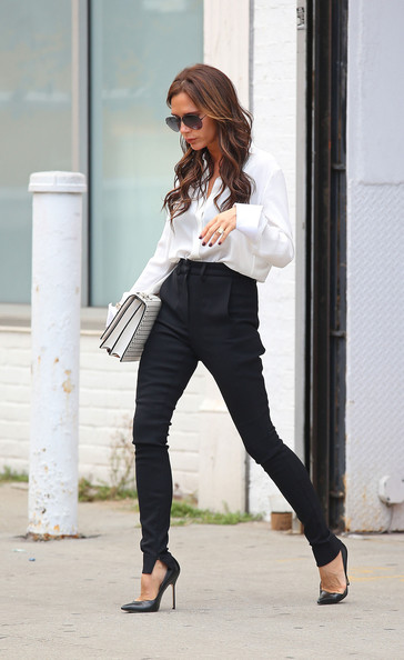 Victoria Beckham High-Waisted Pants