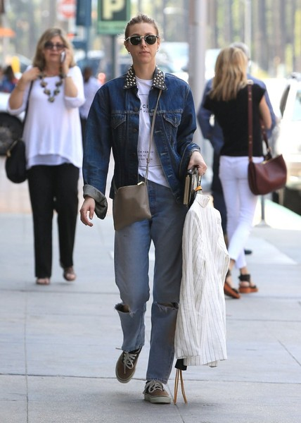 Whitney Port Canvas Sneakers