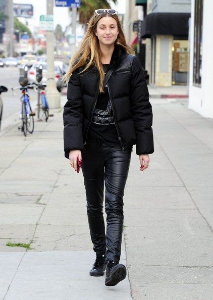 Whitney Port Leather Pants