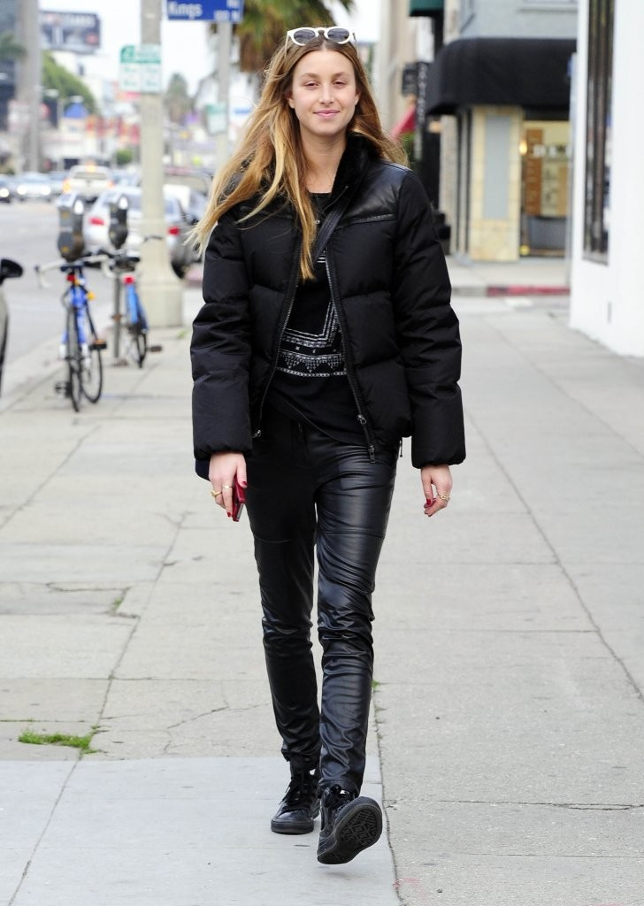 Whitney Port Leather Pants - Whitney Port Looks - StyleBistro