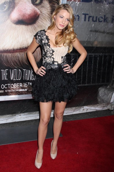 In Marchesa At 'The Where The Wild Things Are' Premiere