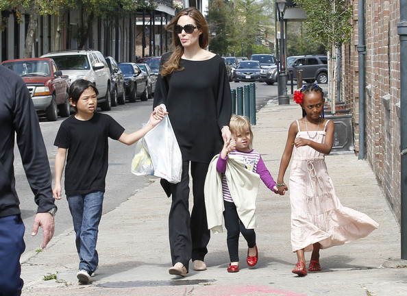 Zahara Jolie-Pitt Maxi Dress