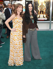 Cher rocked a pair of roomy gray pants at the Los Angeles premiere of 'Zookeeper.'