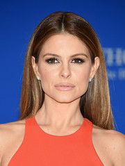 Maria Menounos kept it simple and classic with this center-parted 'do at the White House Correspondents' Association Dinner.