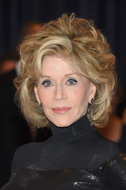 Jane Fonda attended the White House Correspondents' Association Dinner wearing a high-volume curled-out bob.