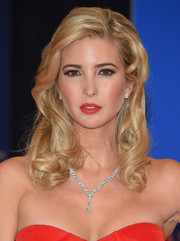 Ivanka Trump polished off her look with a lovely diamond Y-drop necklace by De Beers.