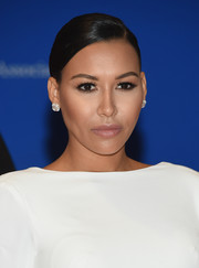Naya Rivera opted for a classic slicked-down updo when she attended the White House Correspondents' Association Dinner.
