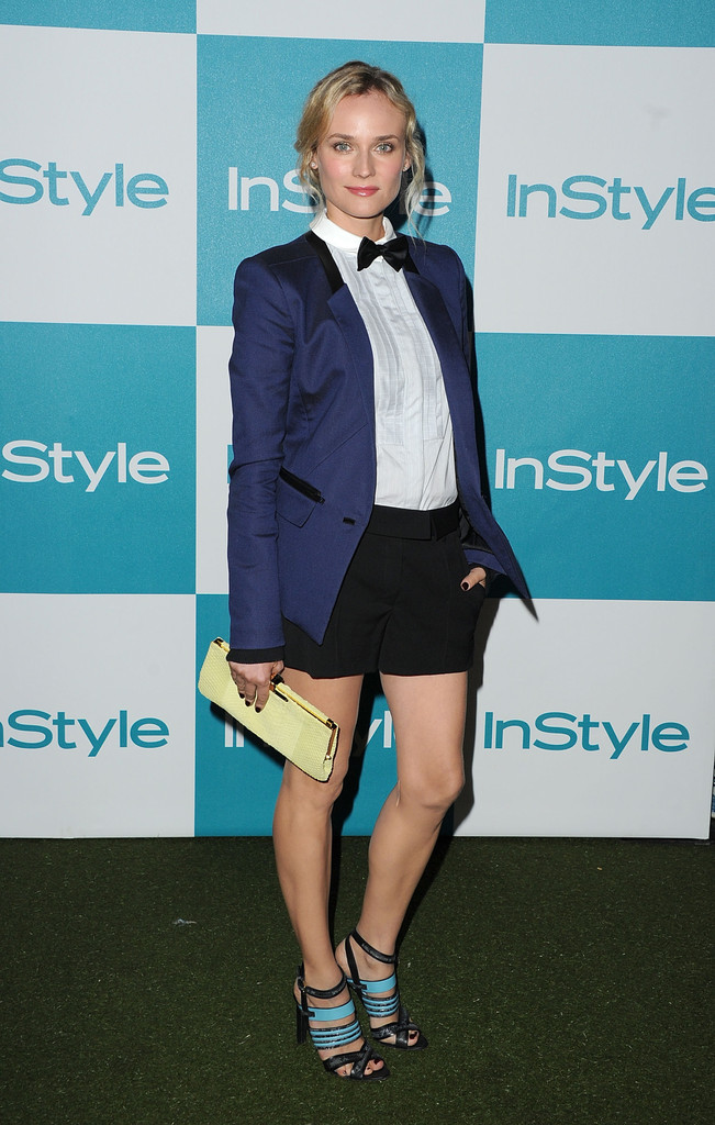 Diane+Kruger in 10th Annual InStyle Summer Soiree - Arrivals