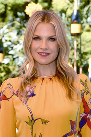 Ali Larter looked boho-glam with her long, center-parted waves at the 2019 Veuve Clicquot Polo Classic Los Angeles.