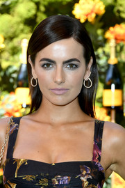 Camilla Belle opted for a loose straight hairstyle when she attended the 2019 Veuve Clicquot Polo Classic Los Angeles.