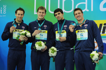 Ryan Lochte Peter Vanderkaay 10th FINA World Swimming Championships (25m) - Day Two