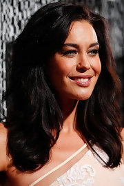 Megan Gale sported a subtly wavy high-volume 'do when she attended the ASTRA Awards.