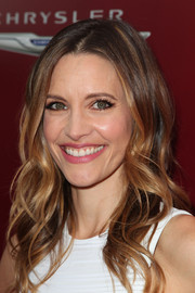 KaDee Strickland looked lovely wearing her hair in piecey waves during the John Varvatos Stuart House Benefit.