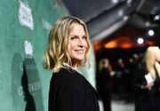 Ali Larter sported a cute and stylish wavy bob at the Women in Film pre-Oscar party.