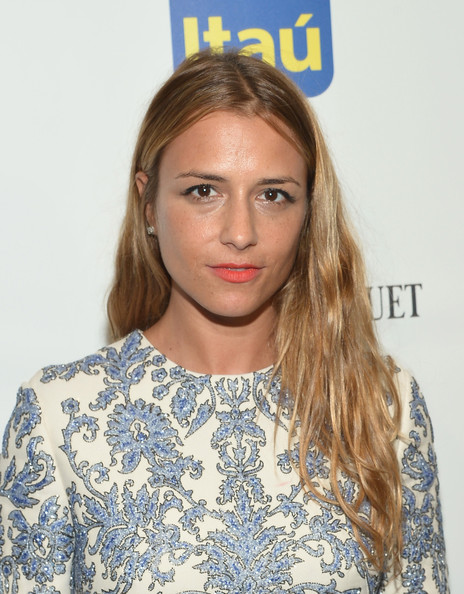 Charlotte Ronson left her hair down with subtle waves when she attended the Brazil Foundation NYC Gala.