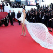 Kendall Jenner in Giambattista Valli at the 2017 Cannes Film Festival