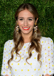 Harley Viera-Newton showed off perfectly styled half-up waves at the CFDA/Vogue Fashion Fund Awards.
