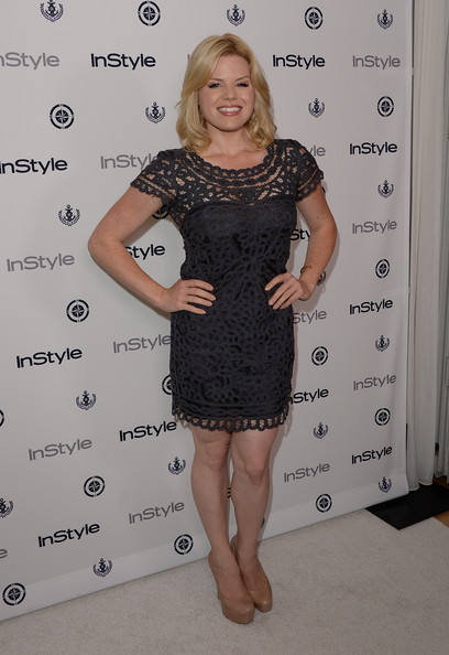 More Pics of Megan Hilty Little Black Dress (3 of 4) - Megan Hilty Lookbook - StyleBistro
