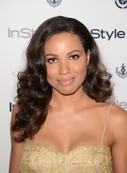 Jurnee's chocolate curls added a soft glamour to her red carpet look.