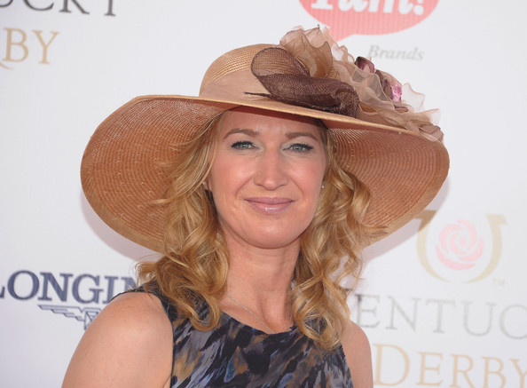 More Pics of Steffi Graf Straw Hat (1 of 3) - Steffi Graf Lookbook - StyleBistro