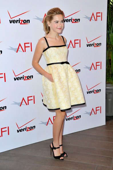More Pics of Kiernan Shipka Evening Sandals (1 of 7) - Kiernan Shipka Lookbook - StyleBistro