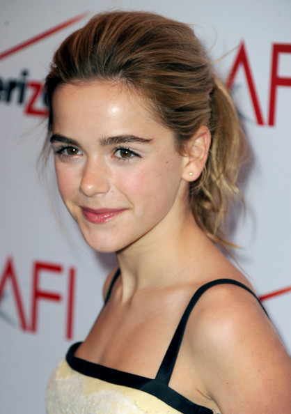 More Pics of Kiernan Shipka Ponytail (1 of 8) - Ponytail Lookbook - StyleBistro