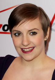 Dark, berry-hued lips amped up the drama of Lena's look at the 2013 AFI Awards.