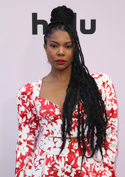 Gabrielle Union looked super cool with her half-up braided bun at the 2020 Essence Black Women in Hollywood Awards.