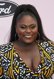 Danielle Brooks sported a high ponytail at the 2020 Essence Black Women in Hollywood Awards.