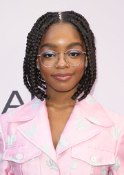 Marsai Martin looked downright darling with her braided bob at the 2020 Essence Black Women in Hollywood Awards.
